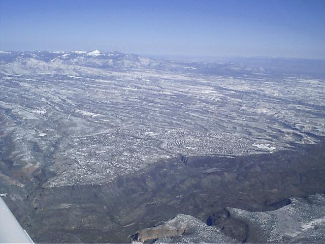 An Aerial Tour around Los Alamos